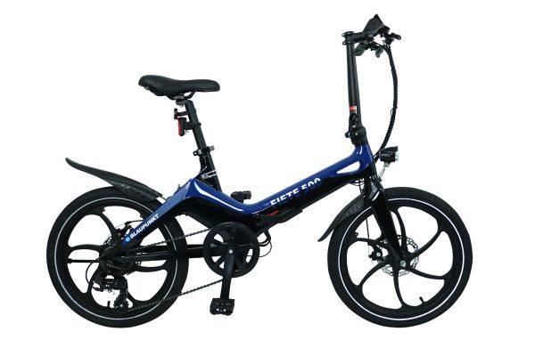Elektriskais velosipēds Blaupunkt Fiete 500 E-Bike Blue