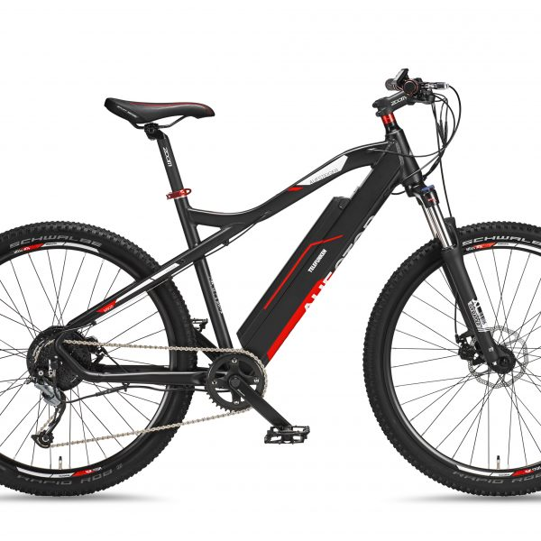 Telefunken Aufsteiger M920 MTB E-Bike Anthracite/Red